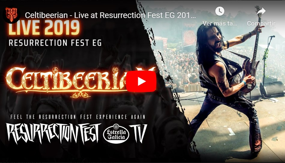 Celtibeerian - Concierto completo Resurrection Fest EG 2019